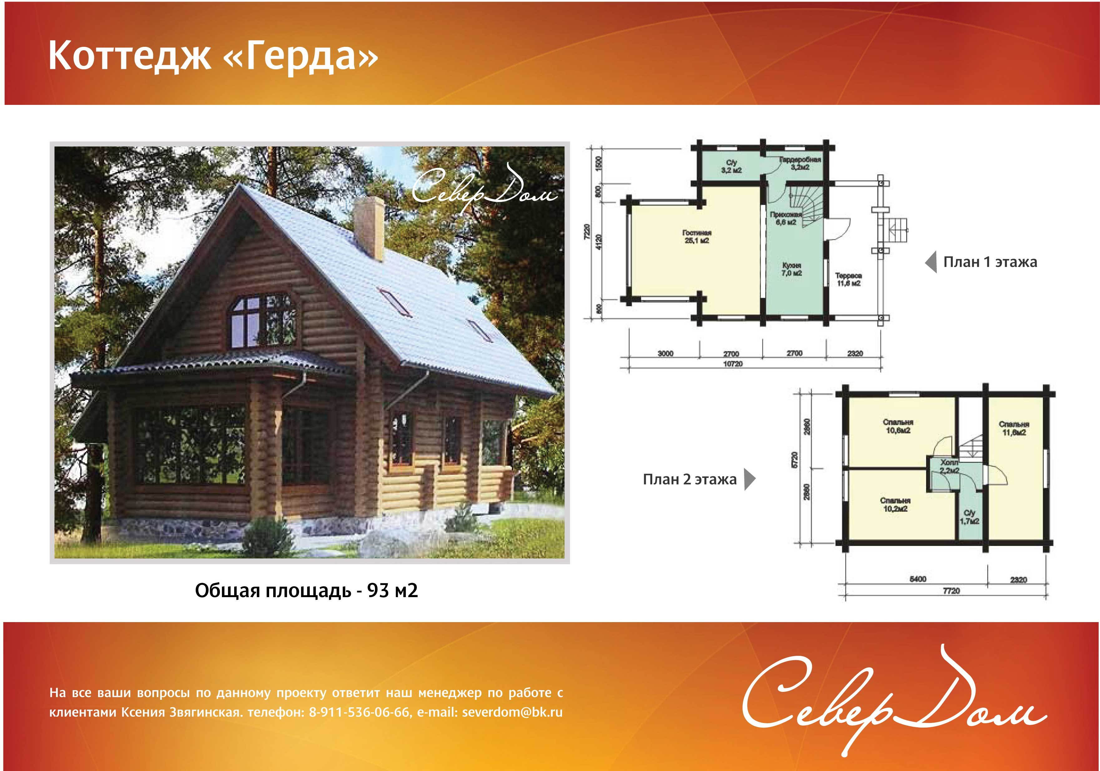 Projekty domov do 100m2
